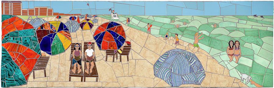 Bethany Beach Mixed Media - Bethany Beach by Jonathan Mandell