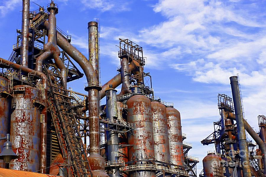 Bethlehem Steel #19 by Marcia Lee Jones
