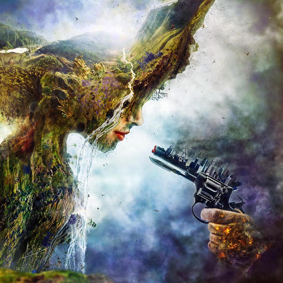 Betrayal Digital Art - Betrayal by Mario Sanchez Nevado