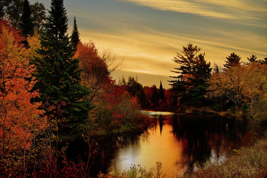 Betsy River Michigan by Evie Carrier