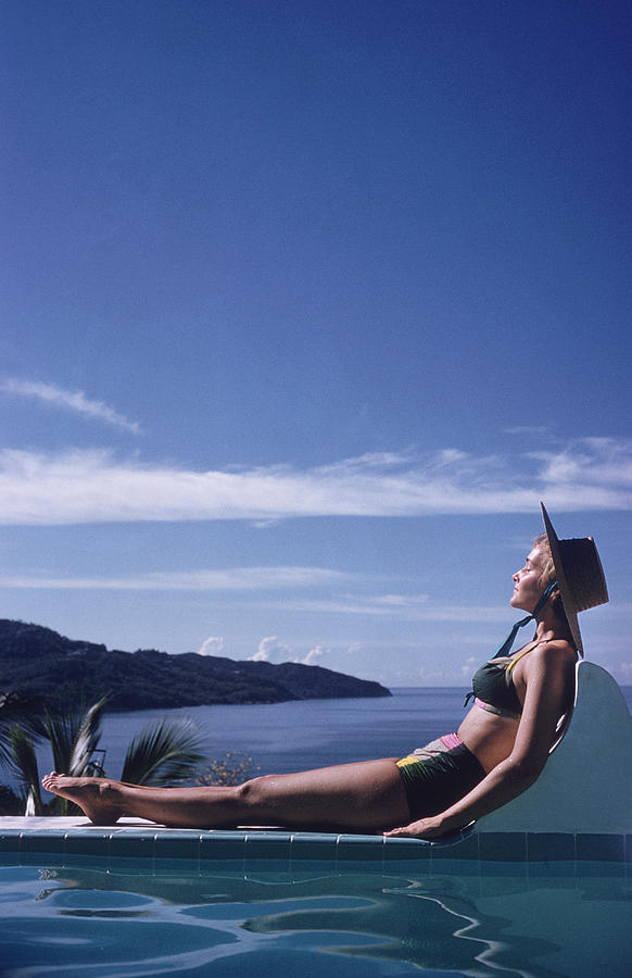 Between Sea And Sky Photograph by Slim Aarons