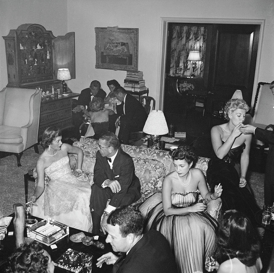 Beverly Hills Party Photograph by Slim Aarons