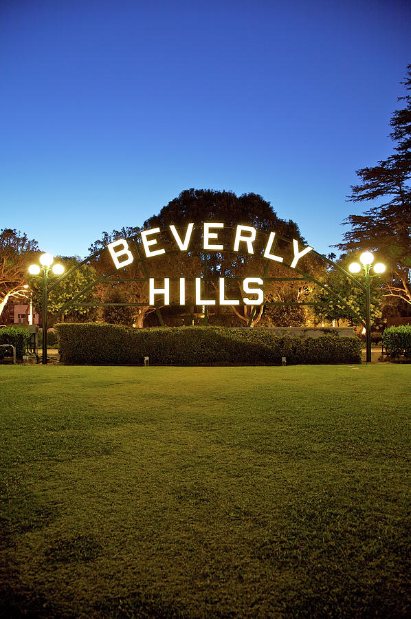 Beverly Hills Portrait Photograph by Ekash