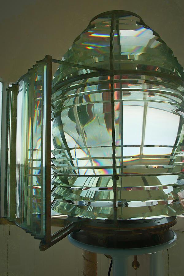 Beverly Hospital Point Fresnel Lens by Jeff Folger