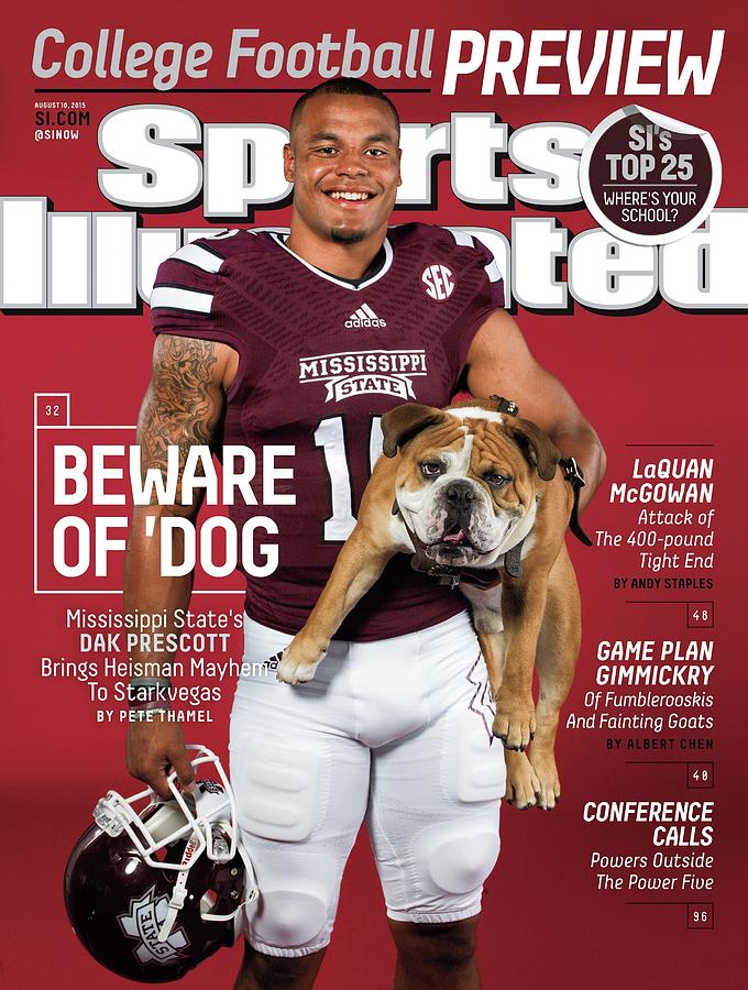 Beware Of dog 2015 College Football Preview Issue Sports Illustrated Cover Photograph by Sports Illustrated