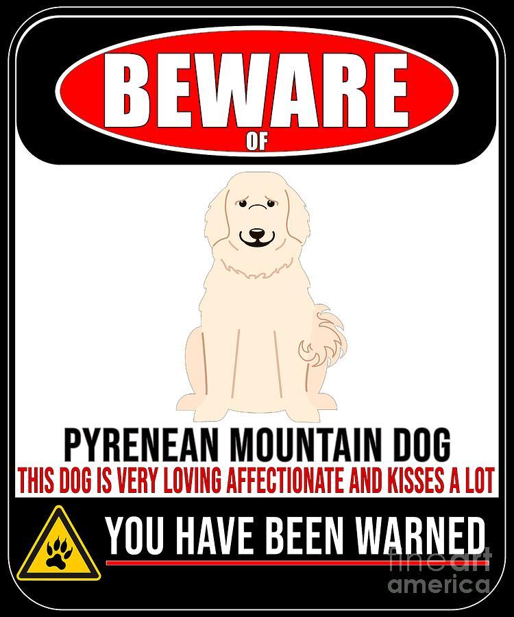 Pyrenees Mountain Dog Love T SHIRT
