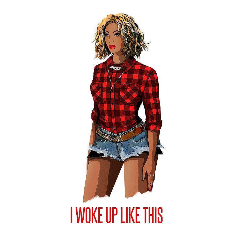 Beyonce - Flawless - Lyrics 2 Digital Art by Bo Kev