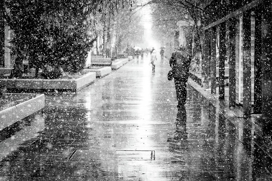 Black And White Photograph - Beyond by Andrei Dima
