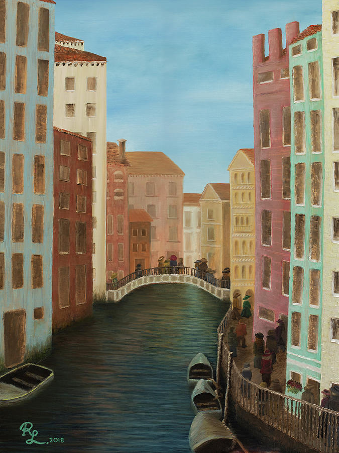 Beyond The Grand Canal by Renee Logan