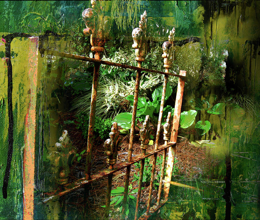 Rusty Gate by Jocelyn Friis