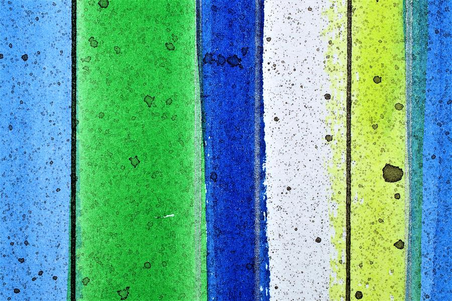 Bright Colors Painting - Bgbw by Stuart Peterman
