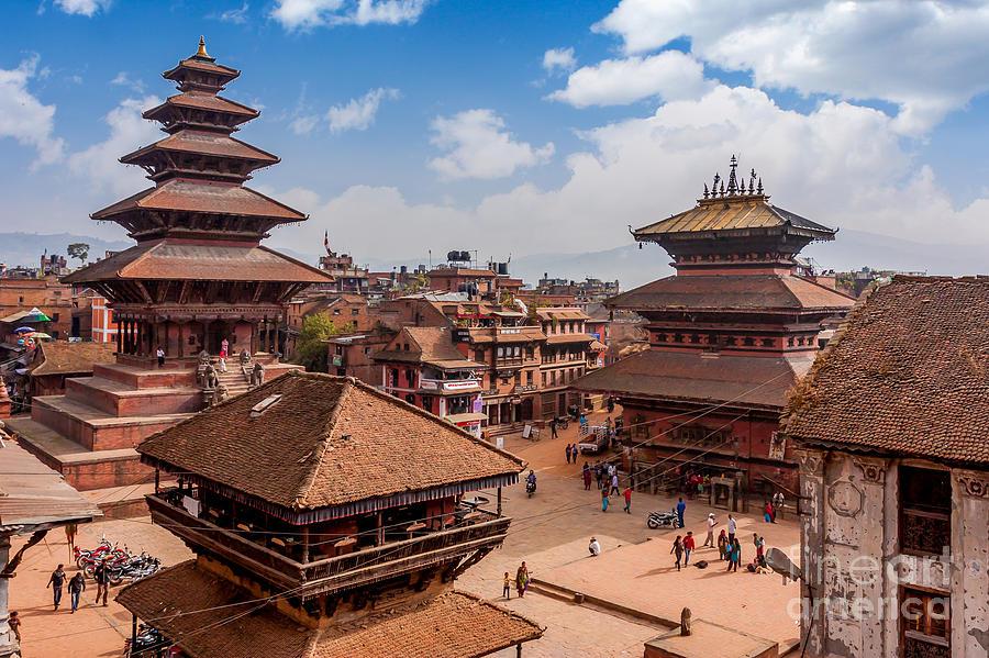 Bhaktapur Photograph - Bhaktapur Is Unesco World Heritage Site by Hakat