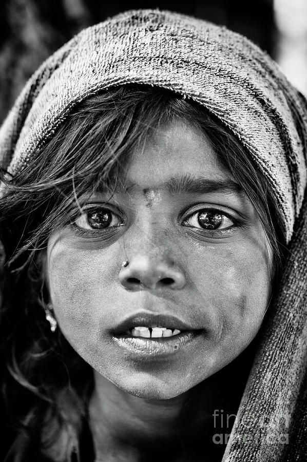Bharatiya Child by Tim Gainey