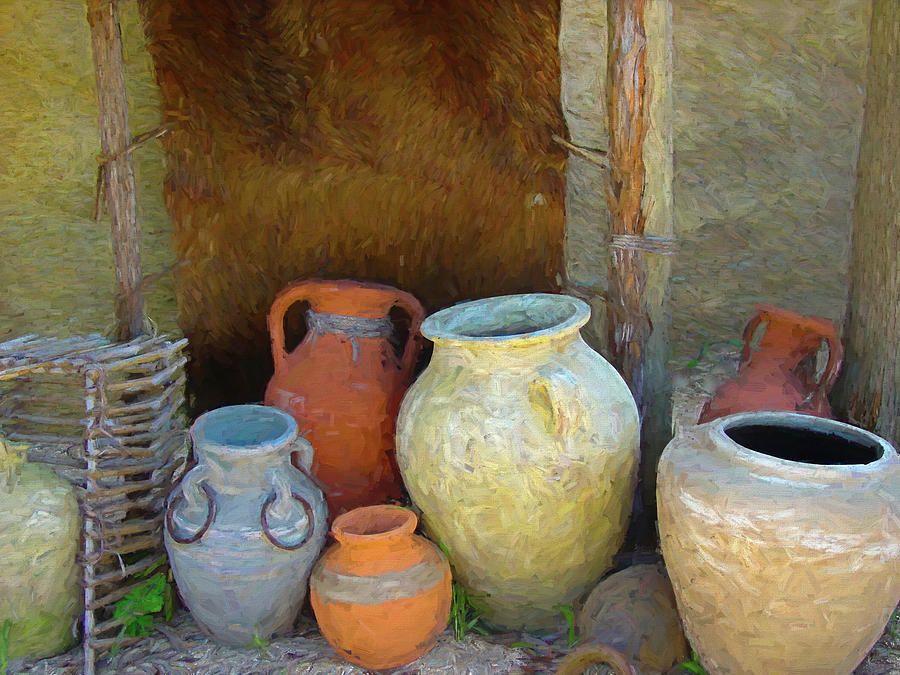 Biblical Pottery by Barry Wills