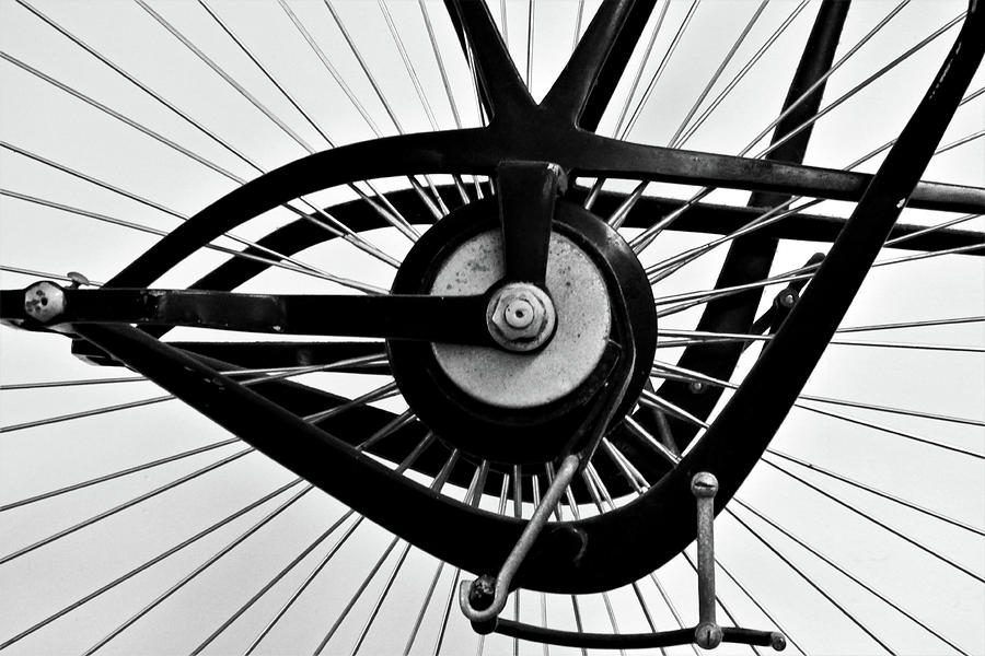 Bicycle Gears Abstract 300 Photograph