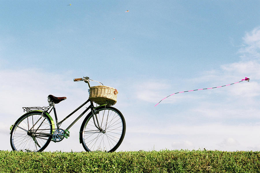 Bicycle Photograph by Genkigenki