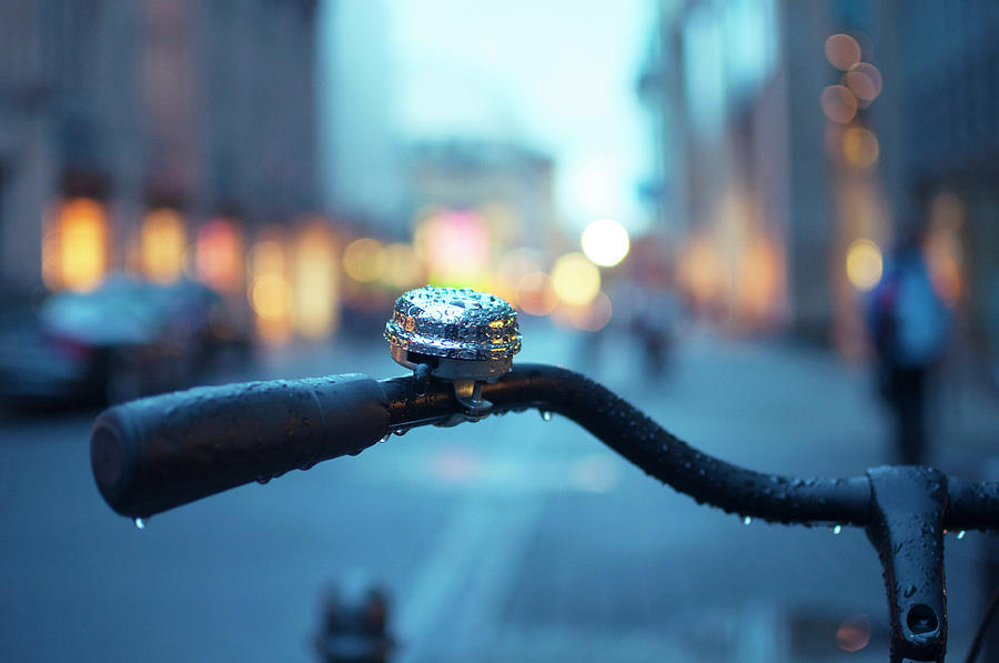 Bicycle Handle Photograph by Fernando Pérez