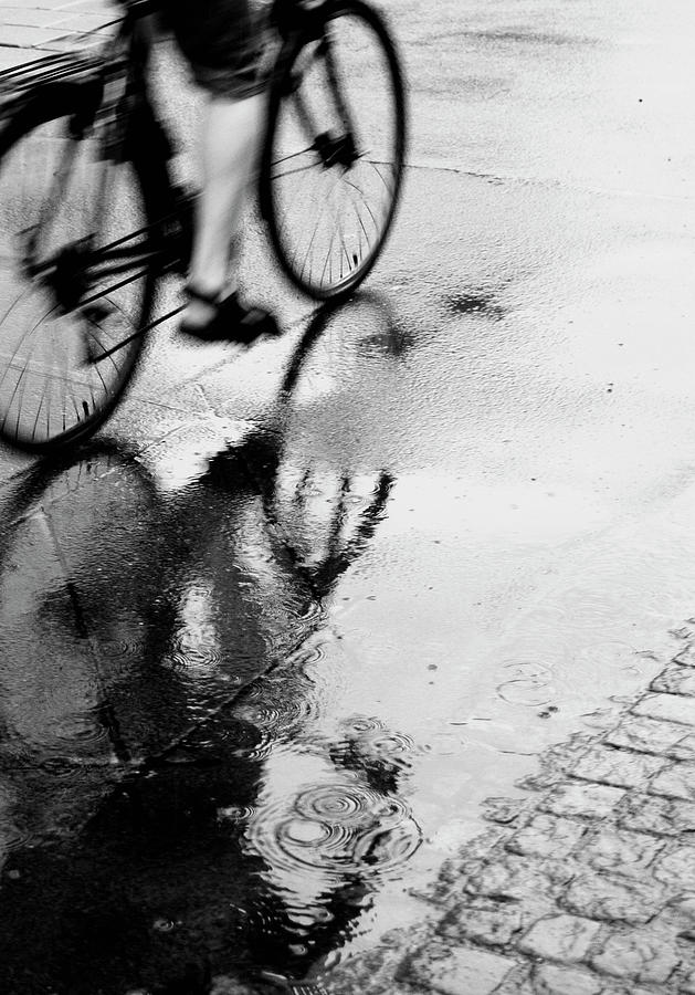 Bicycle On Street Photograph by Katja Kircher