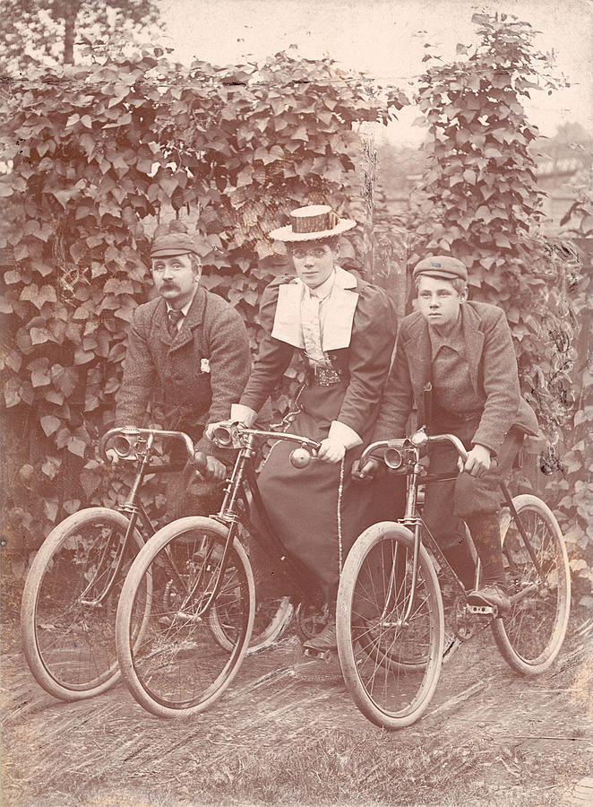 Bicycle Ride Photograph by Hulton Archive