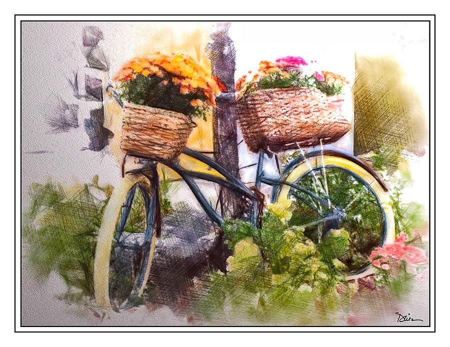 Bicycles and Bouquets by Peggy Dietz
