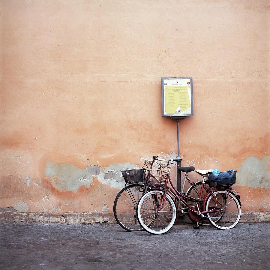 Bicycles Photograph by Andriy Onufriyenko