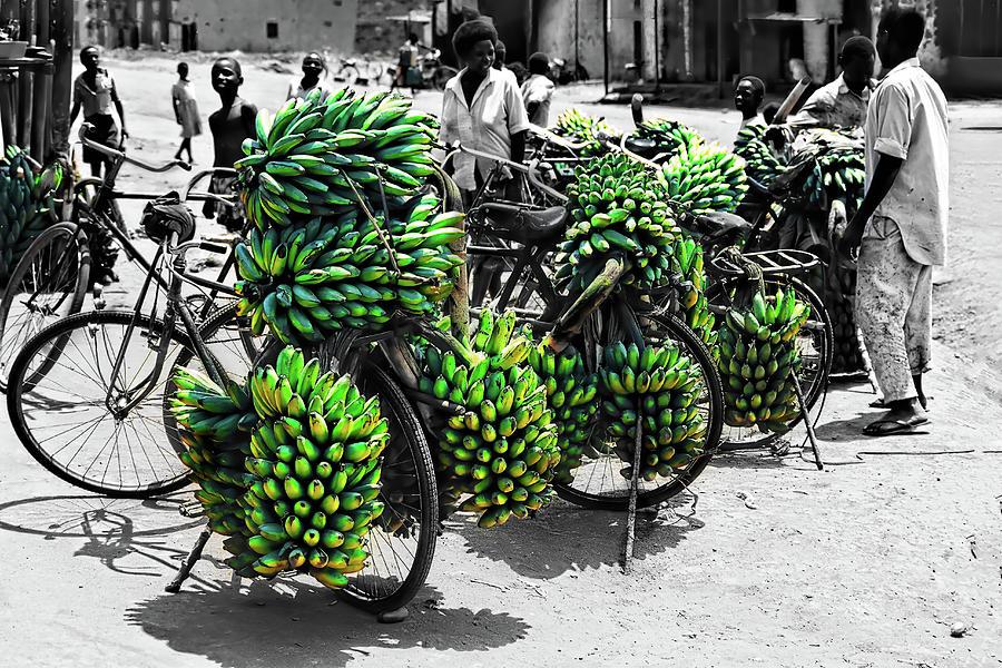 Bicycles in Uganda by Kay Brewer