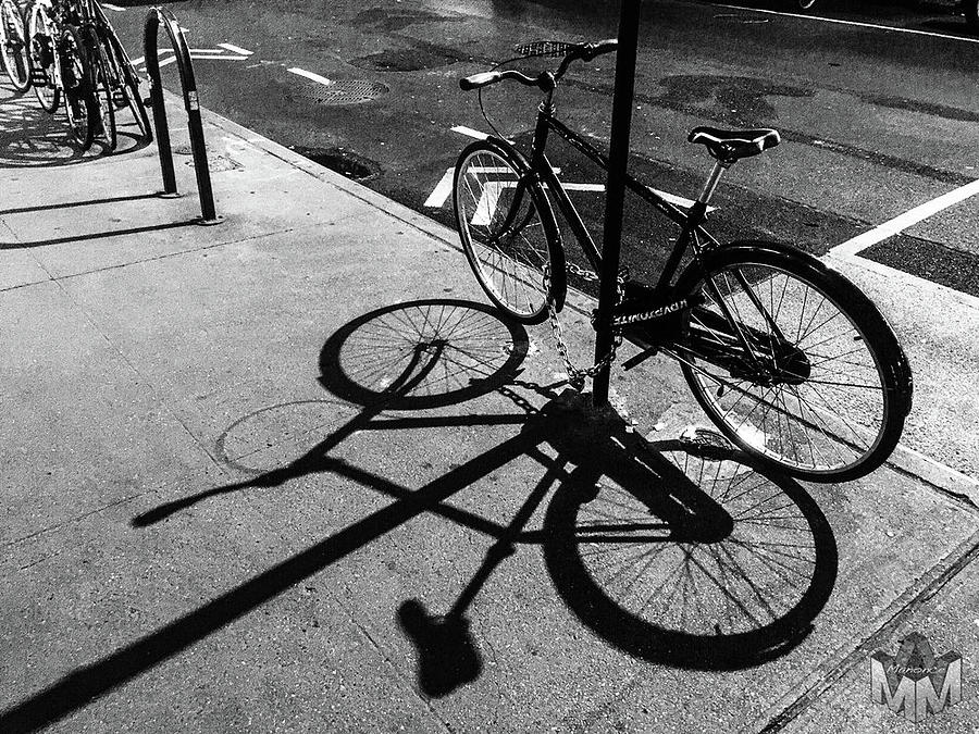 Bicycles Photograph by Manonce Artist