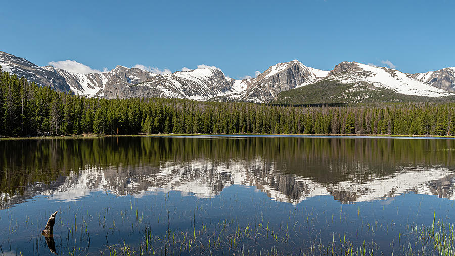 Bierstadt Lake in Rocky Mountain National Park by Brenda Jacobs