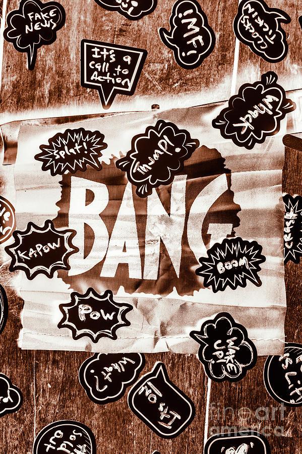Bang Photograph - Big Bang by Jorgo Photography - Wall Art Gallery