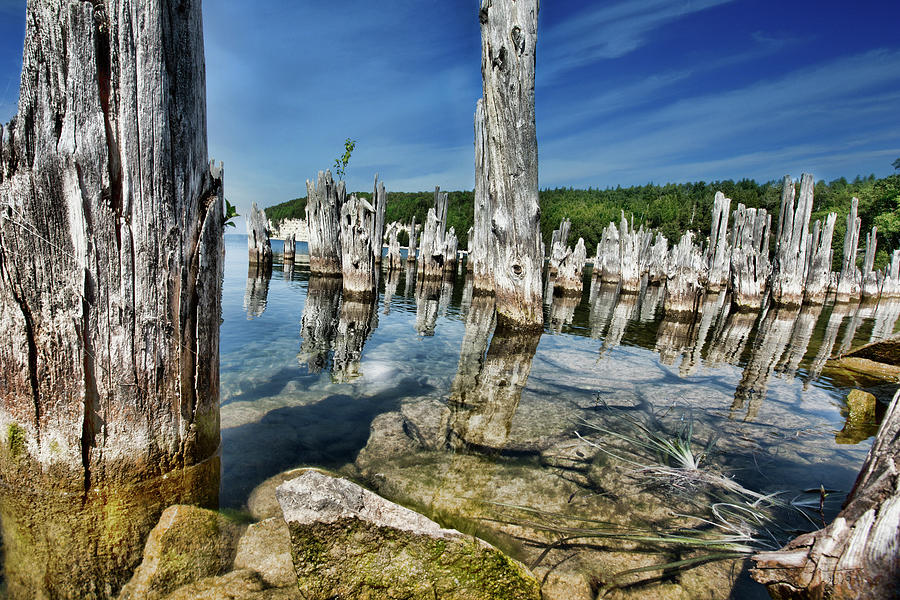 Big Bay De Noc, Michigan by Evie Carrier