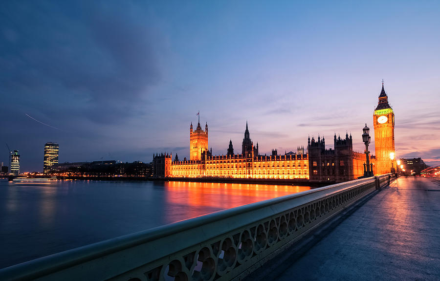 Big Ben And Houses Of Parliament After Photograph by Cirano83