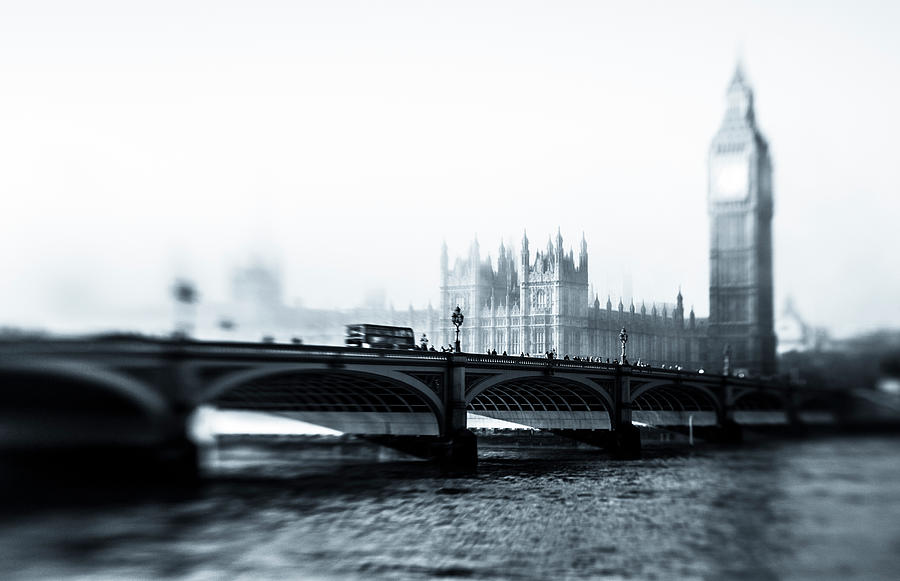Big Ben And Houses Of Parliament In The Photograph by Cirano83