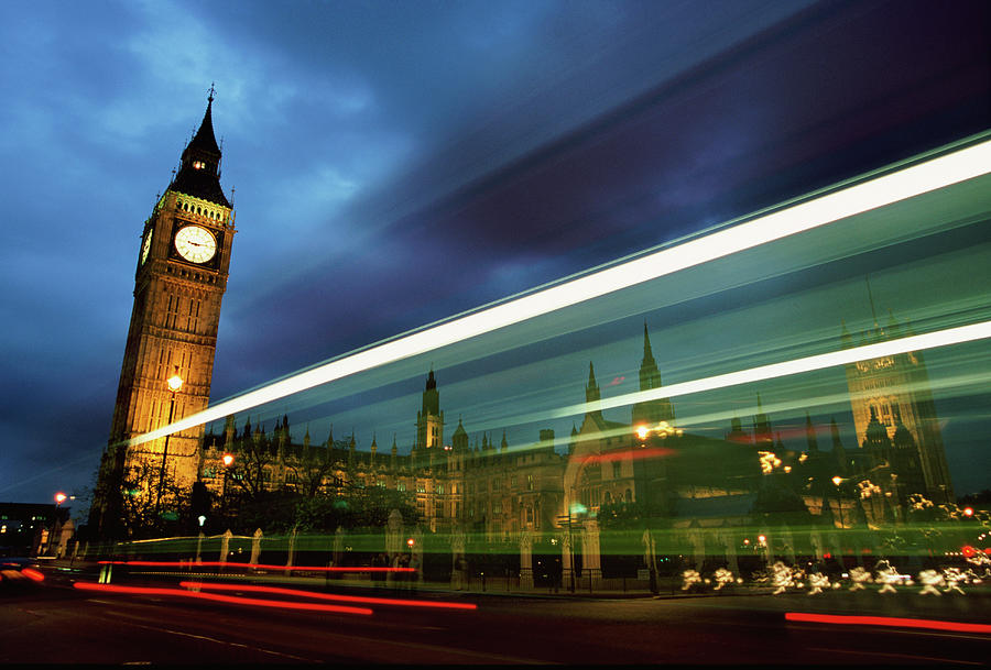 Big Ben And The Houses Of Parliament Photograph by Allan Baxter