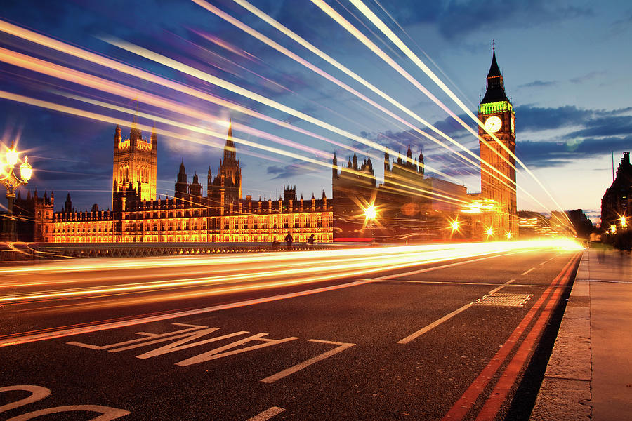 Big Ben And The Houses Of Parliament Photograph by Stuart Stevenson Photography
