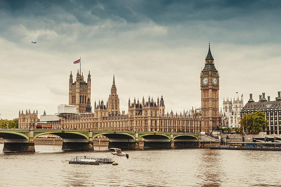 Big Ben And The Parliament In London Photograph by Knape