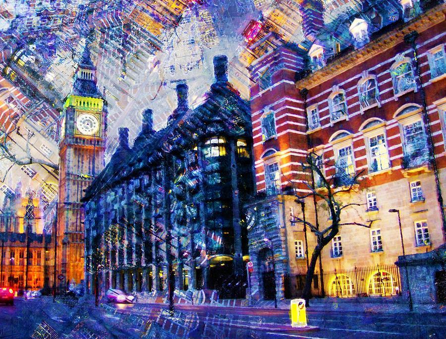 Big Ben Painting - Big Ben by ArtMarketJapan