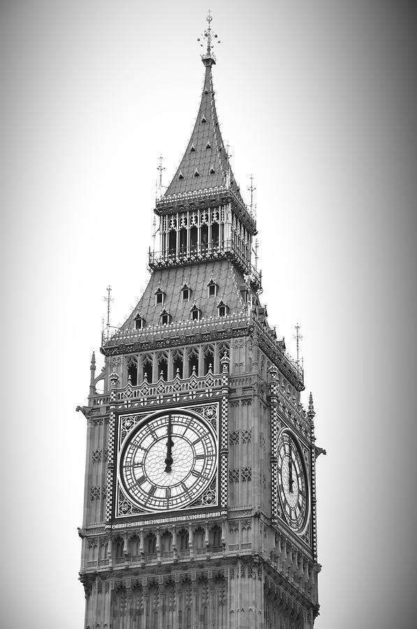 Big Ben At Midnight Photograph by Breathefitness