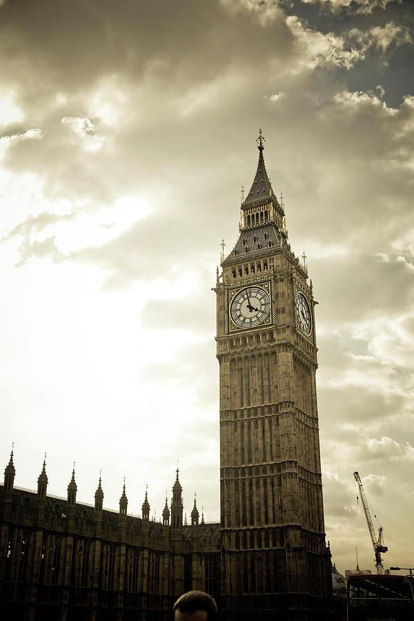Big Ben Clock Tower Photograph by Lisa Barnes