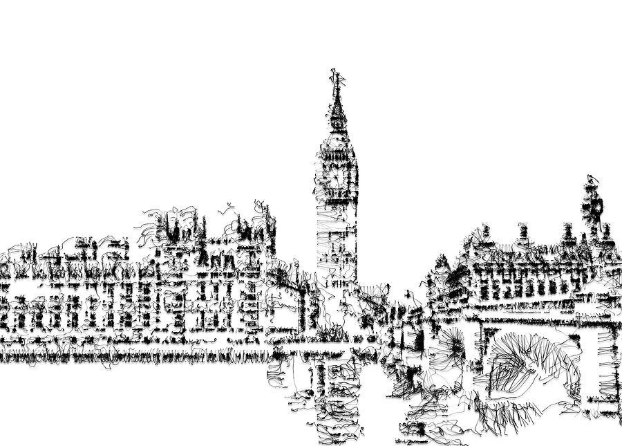 Big Ben Digital Art