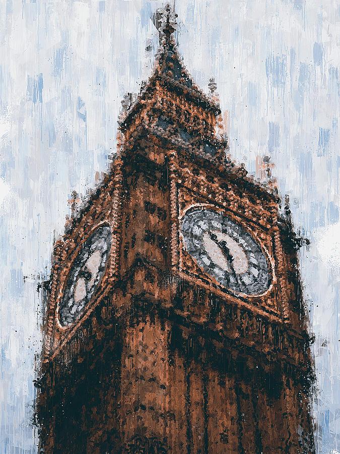 Big Ben of London - 01 by Andrea Mazzocchetti