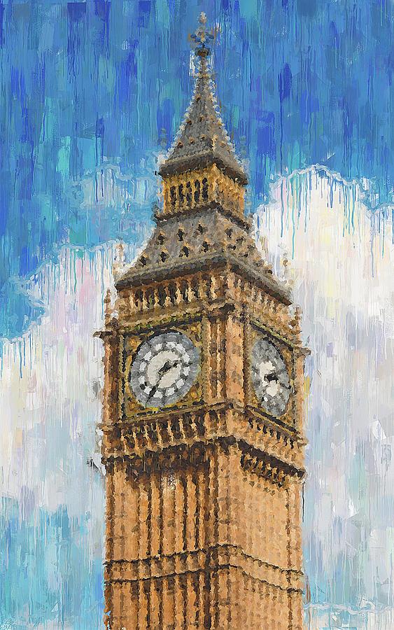 Big Ben of London - 02 by Andrea Mazzocchetti