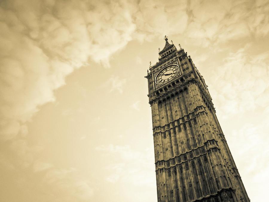 Big Ben Tower, London Photograph by Cirano83