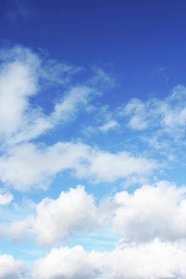 Big Blue Sky Photograph by Lpettet