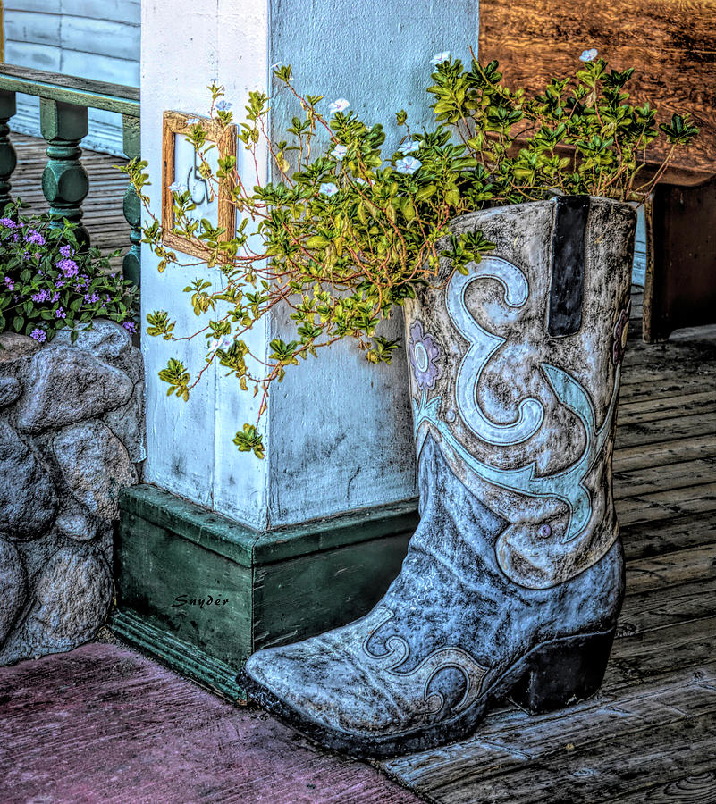 Big Boot at Pioneer Hotel and Gambling II by Floyd Snyder