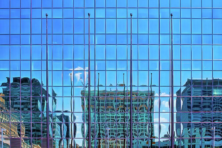 Big City Abstract by Robert FERD Frank