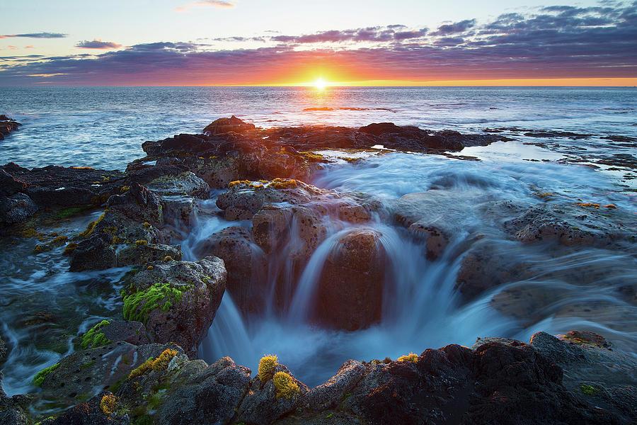 Big Island Sunset by Patrick Campbell