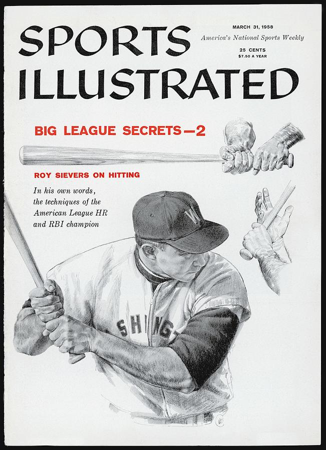 Big League Secrets - Hitting Sports Illustrated Cover Photograph by Sports Illustrated