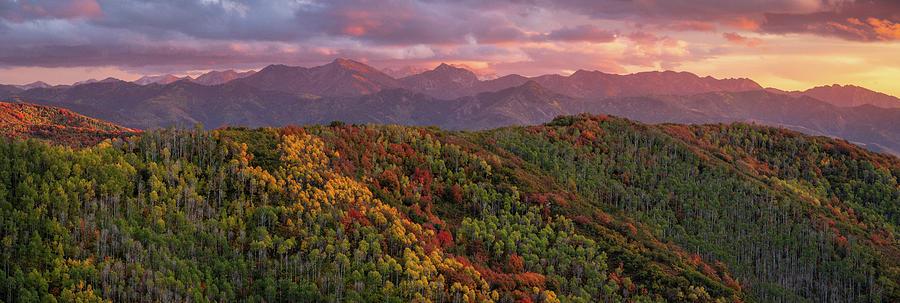 Big Mountain Sunset by Dustin LeFevre