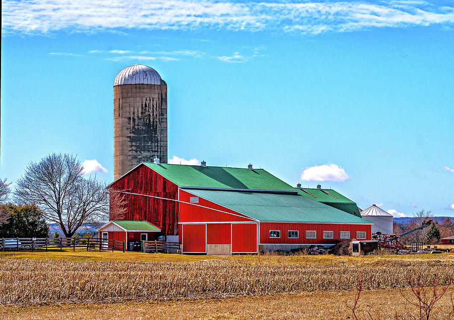 Big Red Barn 3 Photograph