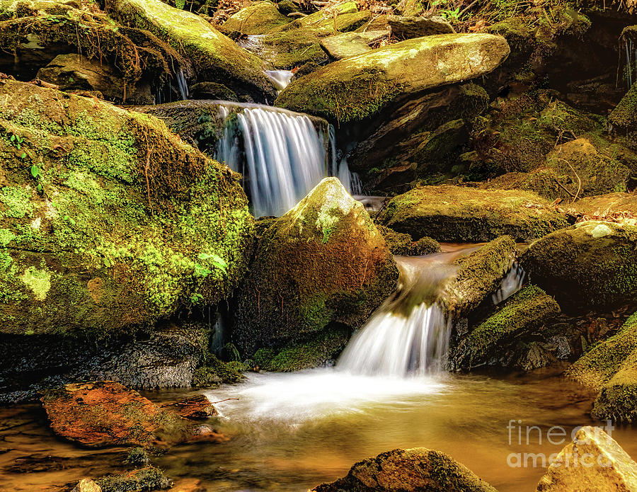 Big Rock Cascades by Nick Zelinsky